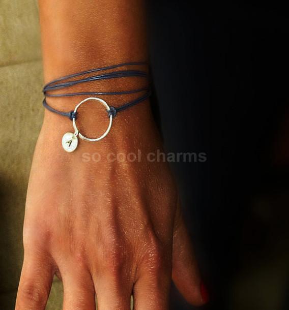 jewels handmade jewelry handmade bracelet silver silver bracelet initial bracelet initial jewelry high fashion jewelry elegant jewelry