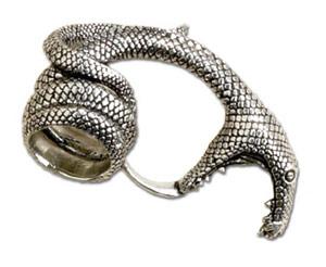 Alchemy Gothic - Adderbite Ring