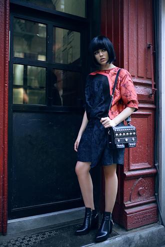 kayture blogger printed dress