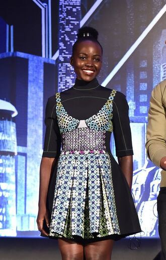 dress top spring outfits spring dress lupita nyong'o