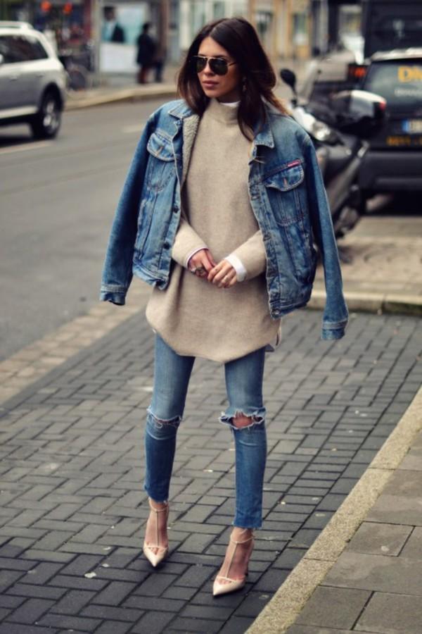 jacket double denim blue jeans skinny jeans blue skinny jeans blue ripped skinny jeans t. Black Bedroom Furniture Sets. Home Design Ideas