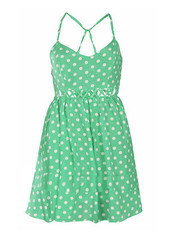 Sirenlondon — carley polka dot dress