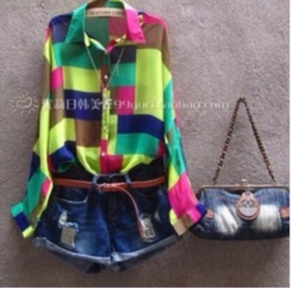 shirt shorts bag