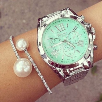 jewels mint pearl bracelets