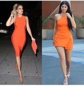 dress,clubwear,celebrity,celebrity style,outfit,outfit idea,cute outfits,party outfits,orange,orange dress,summer dress,cute dress,short dress,party dress,sexy party dresses,short party dresses,special occasion dress,club dress,fashion,style,stylish,clothes,trendy,casual,casual dress,khloe kardashian,kylie jenner,keeping up with the kardashians,kardashians,summer outfits,spring outfits,date outfit,shoes,sexy shoes,party shoes,cute shoes,summer shoes,heels,high heels,cute high heels,5 inch and up,pumps,pointed toe pumps,high heel pumps,pointed toe,ankle strap heels,nude heels,nude high heels,nude pumps,nude shoes,sleeveless,sleeveless dress,clutch