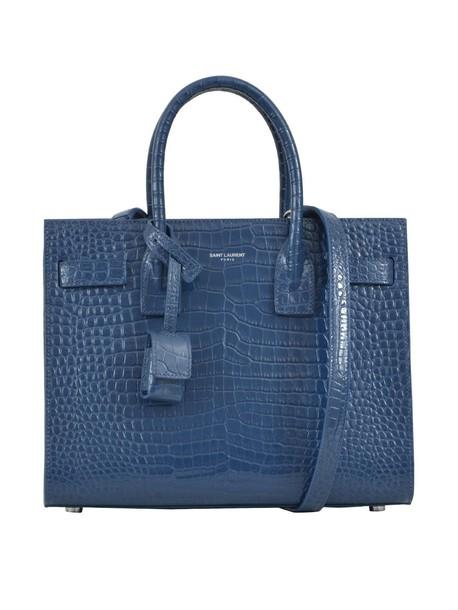 Saint Laurent baby light blue light blue bag