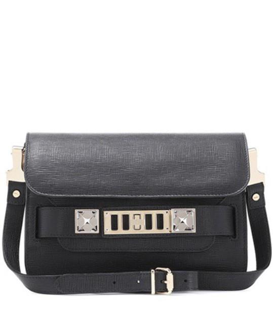 Proenza Schouler mini classic bag shoulder bag leather black