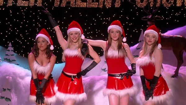 dress christmas mean girls red white black