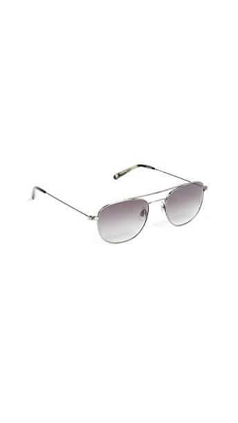 Garrett Leight sunglasses aviator sunglasses black