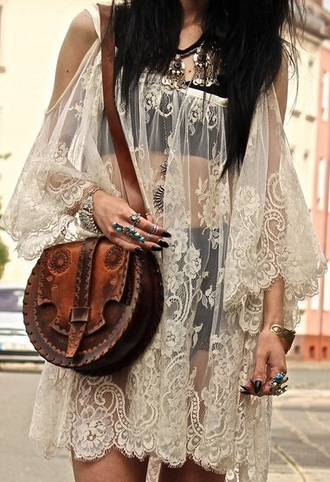 dress lace sheer sleeveless white free people see through dress lace dress sleeveless dress white dress summer dress bag