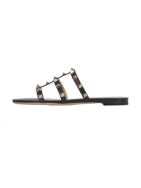 Valentino Garavani sandals flat sandals black shoes