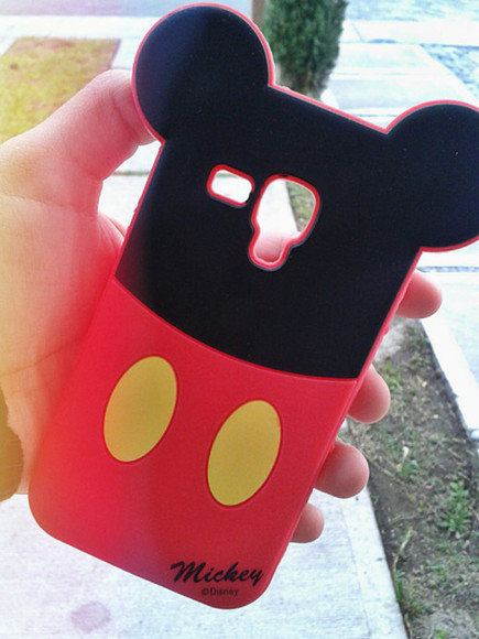 technology phone case mickey mouse