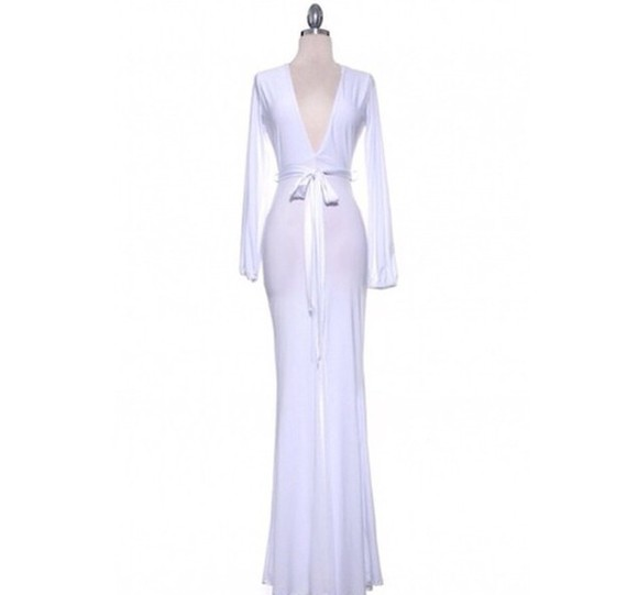 dress white dress long sleeve dress white dress with bow long dress