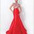 Discount 2015 Luxurious Beaded High Neck Red Mermaid Prom Dresses Beading Cap Sleeve Zipper-up Back Sweep Train Satin Formal/Evening Gowns 54967M Online with $116.56/Piece | DHgate