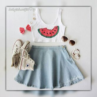 shirt watermelon print