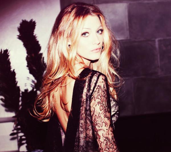 lace dress lace blake lively black backless dress