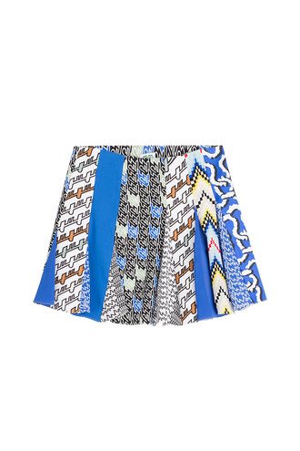 skirt mini skirt mini multicolor