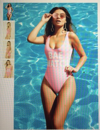 swimwear one piece swimsuit one piece bae watch swim