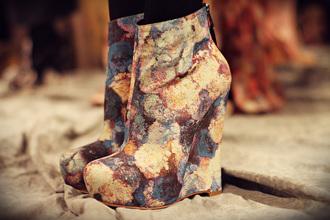 shoes wedges floral shoes chris benz