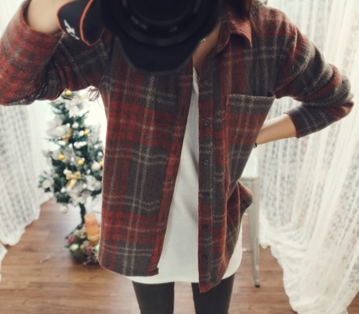 Mystery Oversized Flannel - Nerdy Youth