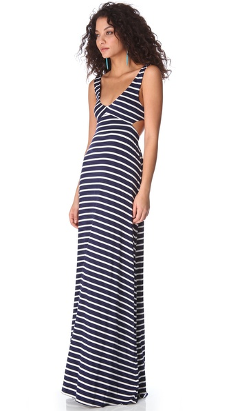 Rachel Pally Stripe Cutout Dress | SHOPBOP