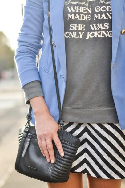 thank fifi blogger jacket bag