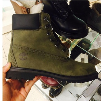 shoes khakiboots timberland boots green shoes