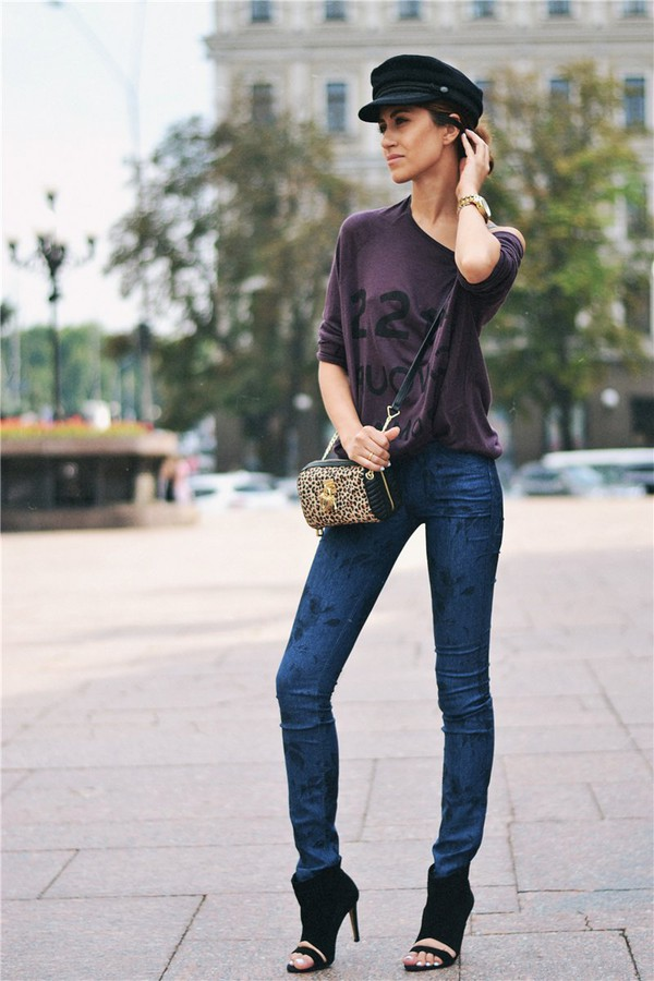 tina sizonova blogger jeans bag jewels jacket shoes