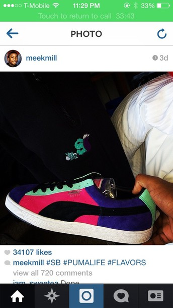 shoes meek mill puma sneakers