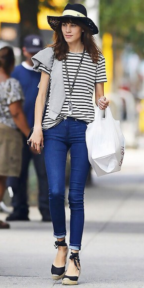 shoes alexa chung stripes