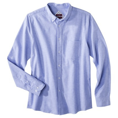 Merona® Men's Tailored Fit Oxford Button Down : Target