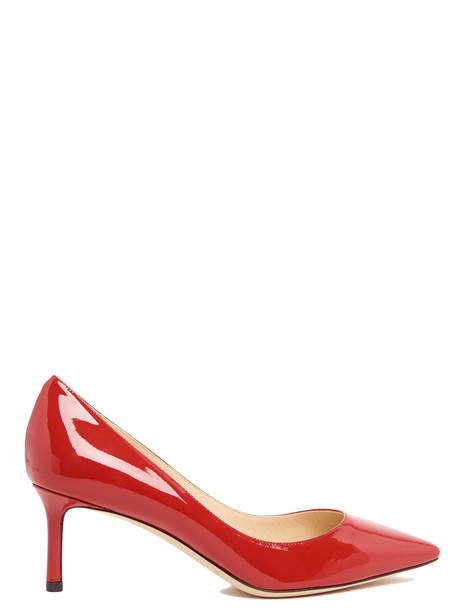 Jimmy Choo pumps red shoes