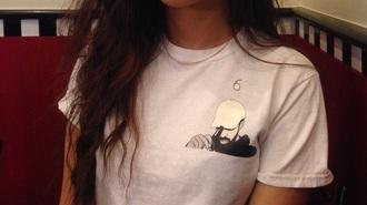 drake drake clothing drake t-shirt urban hip hop shirt drake logo tumblr shirt t-shirt tumblr celebrity