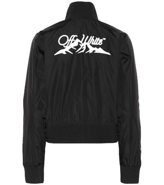 Off-White Exclusive to Mytheresa – track jacket in black