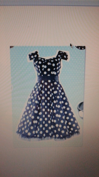 dress black dress polka dots