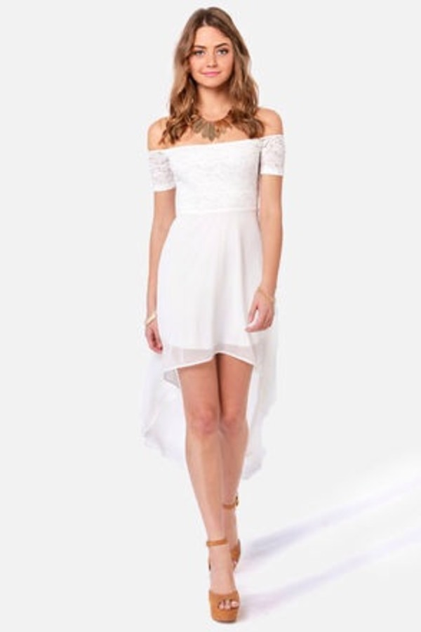 dress white dress lace dress white lace dress formal dress white formal dress