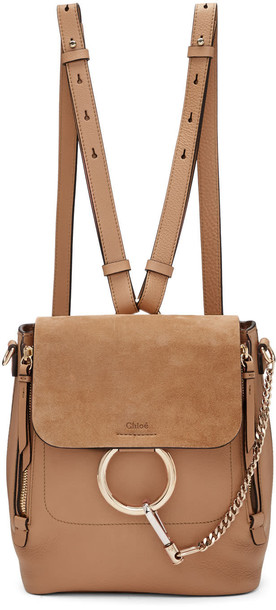 backpack beige bag