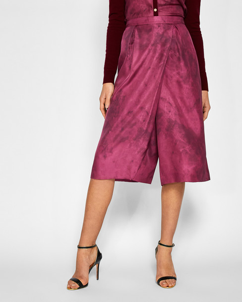 Ted Baker culottes silk pants