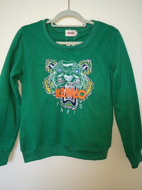 sweater kenzo kenzo sweater kenzo paris sweater green tiger sweater green sweater grey kenzo sweatshirt tiger top sweatshirt
