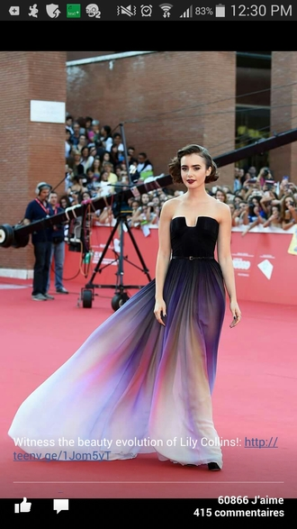 dress lily collins