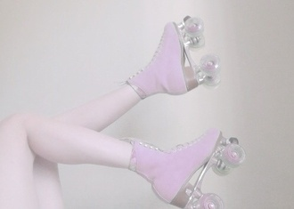 shoes purple light purple hipster cute pretty beautiful skate shoe purple.   shoes.  boots.