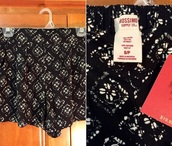 shorts,mossimo supply co.,target,flowered shorts