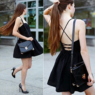 dress mini dress mini prom dress prom dress black mini dress black dress black black prom dress summer dress summer summer outfits style girly pretty