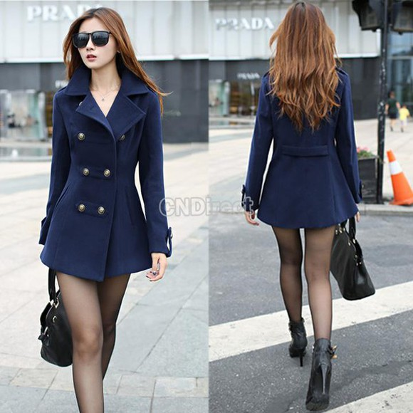 navy coat navy blue coat navy coat double breasted