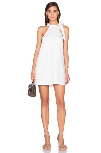 dress shift dress sleeveless white