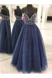dress,blue dress,prom dress,embroidered,lace dress