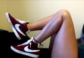 shoes,hipster,swag,yolo,wonderful,red,red shoes,lovely,girl,girly,gossip,vintage,boho,nike