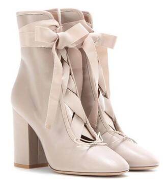 leather ankle boots boots ankle boots leather shoes