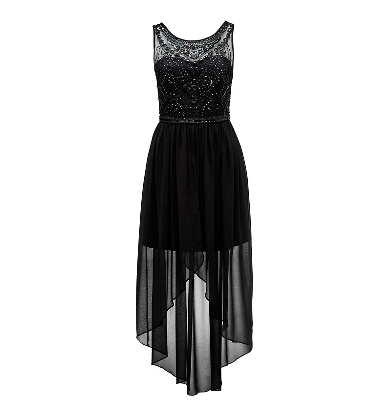 Lauren embellished high-low dress - Forever New