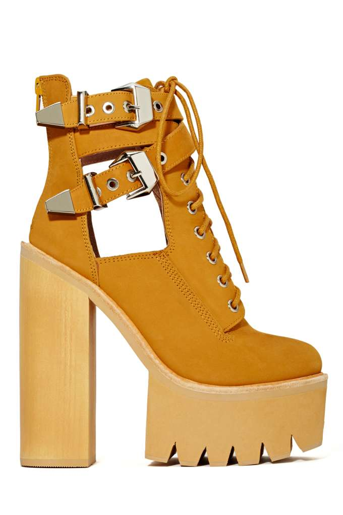 Jeffrey Campbell Abner Platform Boot at Nasty Gal